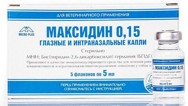 Описание и действие препарата: Максидин