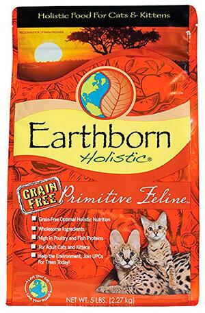 Earthborn Holistic, Primitive Feline Natural Cat Food