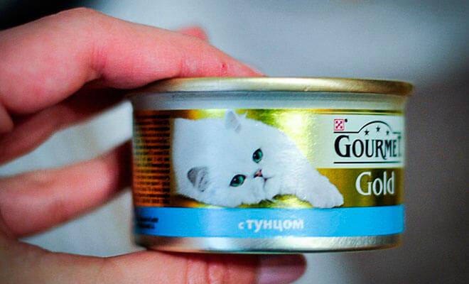 Корм для кошек Gourmet