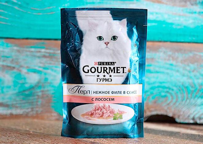 Корма для кошек Gourmet