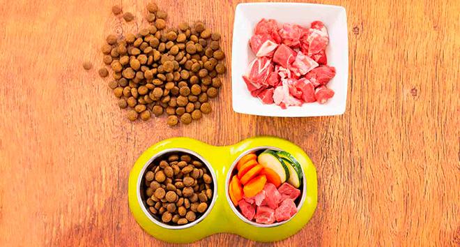 Кормление натуральной едой