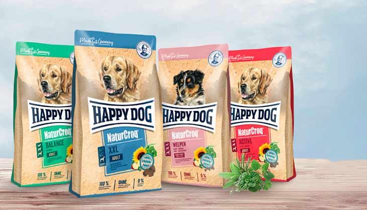Обзор корма для собак Happy Dog