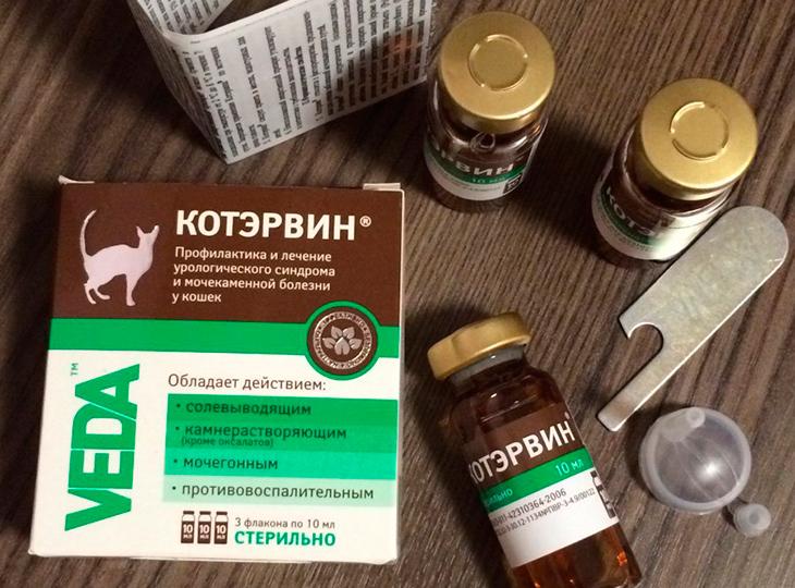 Описание препарата Котэрвин