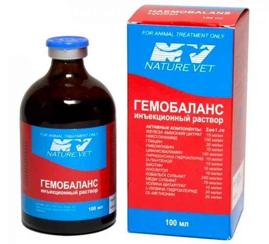 Условия хранения и срок годности Гемобаланса
